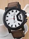 L.WEST Men's Leisure Sports Quartz Watch Wrist Watch Cool Watch Unique Watch