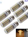 6 stuks YouOKLight E14 / E26/E27 18W 72 SMD 5730 1700 LM Warm wit / Koel wit T Decoratief LED-maislampen AC 110-130 / AC 220-240 V