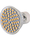 1 pcs GU10 6 W 60 SMD 3528 540 LM Warm White / Cool White LED Spot Lights AC 220-240 / AC 110-130 V