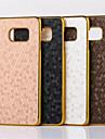 Pour Samsung Galaxy Coque Plaqué Coque Coque Arrière Coque Forme Géométrique Polycarbonate pour SamsungS7 edge plus S7 edge S7 S6 edge