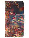 For Samsung Galaxy Case Card Holder / with Stand / Flip / Pattern / Magnetic Case Full Body Case Tree PU Leather Samsung A3