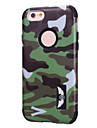 For iPhone 6 Case / iPhone 6 Plus Case Pattern Case Back Cover Case Camouflage Color Soft Silicone iPhone 6s Plus/6 Plus / iPhone 6s/6