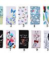 Estojo de couro padrao especial pu carteira de 4 polegadas com suporte para o iPod touch 5 / touch 6 (cores sortidas)