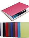 Pour Samsung Galaxy Coque Porte Carte Avec Support Clapet Relief Coque Coque Integrale Coque Couleur Pleine Cuir PU pour SamsungTab 4 8.0
