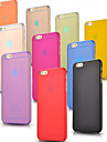 For iPhone 6 Case / iPhone 6 Plus Case Ultra-thin / Frosted / Translucent Case Back Cover Case Solid Color Hard PCiPhone 6s Plus/6 Plus /