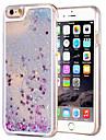 용 아이폰6케이스 / 아이폰6플러스 케이스 플로잉 리퀴드 / 투명 케이스 뒷면 커버 케이스 글리터 샤인 하드 PC iPhone 6s Plus/6 Plus / iPhone 6s/6