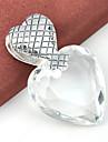 Муж. Женский Кулоны Драгоценный камень Серебрянное покрытие Топаз В форме сердца Сердце Бижутерия Свадьба Для вечеринок Повседневные Спорт