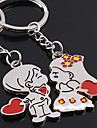Boy Pair & Dziewczyna Heart Shaped Breloki Lovers