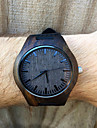 Mens Dark Ebony Real Wood Watch, Engraved Wooden Watch, Gift For Him, Mens Wooden Watch Cool Watch Unique Watch