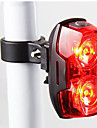 Bike Lights / Rear Bike Light / Safety Lights LED - Cycling Waterproof / Warning / Easy Carrying AAA 400 Lumens Battery Cycling/Bike