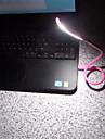 портативный мини гибкой регулируемой яркостью СИД USB ночник для ПК портативный компьютер клавиатура питания банка чтение света