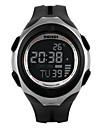 Męskie Zobacz Cyfrowe Sportowy LCD / Termometry / Kalendarz / Chronograf / Wodoszczelny / alarm / Sportowy PU Pasmo Zegarek na nadgarstek