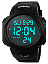 Skmei® Men's PU Band Outdoor Sports LED Multifunction Wrist Watch 50m Waterproof Assorted Colors Cool Watch Unique Watch Fashion Watch