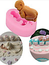 Baby Silicone Soap Fondant Mould Chocolate Sugarcraft Cake Mold Baking Tool DIY