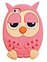 Для Кейс для iPhone 6 Plus Защита от удара Кейс для Задняя крышка Кейс для 3D в мультяшном стиле Мягкий СиликонiPhone 6s Plus/6 Plus /