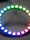 ws2812 24-5050 RGB LED доска развития водитель - черный + белый