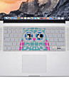 owl design Silicone Keyboard Cover Skin for MacBook Air 13.3, MacBook Pro With Retina 13 15 17 US Layout
