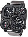 Мужской Армейские часы Наручные часы Спортивные часы Кварцевый Японский кварц сплав Группа Черный