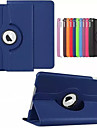 360 Degree Rotating Stand PU Leather Auto Sleep and Wake Up Case Cover for iPad Mini 3/2/1 (Assorted Colors)