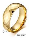 Классические кольца Нержавеющая сталь Сталь Мода Цвет экрана Бижутерия Для вечеринок 1шт