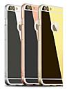 Для Кейс для iPhone 6 / Кейс для iPhone 6 Plus Покрытие / Зеркальная поверхность Кейс для Задняя крышка Кейс для Один цвет Твердый Акрил