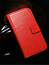 Crazy Horse PU Leather Full Body Case with Card Slot and Stand for Samsung Galaxy S3 I9300