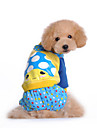 Dog Coat / Hoodie / Clothes/Jumpsuit / Clothes/Clothing Multicolored Winter Polka Dots Keep Warm / Fashion