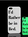 frase lema patron de brillo en la cubierta trasera de plastico duro oscuro para iphone 5 para el caso del iphone 5s
