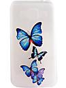 Pour Samsung Galaxy Coque Transparente Motif Coque Coque Arriere Coque Papillon PUT pour SamsungOn 7 On 5 J7 J5 J3 J1 Grand Prime Grand