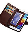 durable pu étui portefeuille en cuir pour les i9600 Samsung Galaxy S