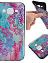 용 삼성 갤럭시 케이스 패턴 케이스 뒷면 커버 케이스 꽃장식 TPU Samsung J5 / J1 / Grand Prime / Core Prime
