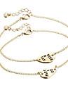 Partners in Crime Alloy Bracelet Chain & Link Bracelets Daily / Casual 1set