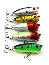 5 PCS Hard Bait Popper 65MM 13G Fishing Lure Random Colors
