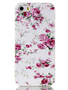 For iPhone 5 Case Pattern Case Back Cover Case Flower Soft TPU iPhone SE/5s/5