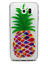 Pour Samsung Galaxy S7 Edge Transparente Relief Coque Coque Arriere Coque Fruit PUT pour Samsung S7 edge S7 S6