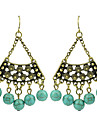 Earring Drop Earrings Jewelry Women Party / Daily Alloy / Turquoise 2pcs KAYSHINE