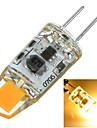 2W G4 Двухштырьковые LED лампы Утапливаемое крепление 1 COB 100-200 lm Тёплый белый / Холодный белый Декоративная AC 12 V 1 шт.