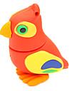 zpk36 16gb rouge bande dessinee de hibou usb oiseaux 2.0 lecteur de memoire flash u baton