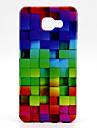 용 삼성 갤럭시 케이스 패턴 케이스 뒷면 커버 케이스 기하학 패턴 TPU Samsung A7(2016) / A5(2016) / A3(2016)