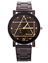 Men\'s Fashion Watch Geometry Steel Quartz Watch Wrist Watch Cool Watch Unique Watch
