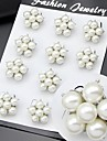 Women\'s Mini Size Pearl Brooch for Wedding Party Decoration Scarf ,Fine Jewelry