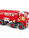Puzzles 3D - Puzzle / Metallpuzzle Bausteine DIY Spielzeug Auto 154 Metall Rot Model & Building Toy