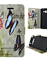 For Samsung Galaxy Case Card Holder / with Stand / Flip / Pattern / Magnetic Case Full Body Case Butterfly PU Leather SamsungA5(2016) /
