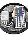 Z®ZDM 5M 300X5050 SMD RGB LED Strip Light  IP20 with 44Key Remote Controller (DC12V)