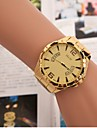 Men's Fashion Watch  Gold Band Watch Cool Watch Unique Watch