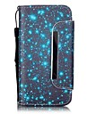 EFORCASE® Constellation Painted Lanyard PU Phone Case for iphoneSE/5S/5