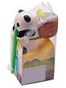 neje Selbstbewaesserungs Tier Pflanze Pflanzer - Panda (Basilikum)