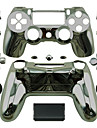 Replacement Controller Case for PS4 Controller PS4 Case Plating Golden/Silver/Black