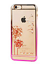 Ultra-thin Diamond Plating Plastic Back Cover for iPhone 6