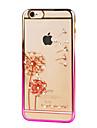 용 아이폰6케이스 / 아이폰6플러스 케이스 크리스탈 / 도금 / 울트라 씬 / 투명 / 패턴 케이스 뒷면 커버 케이스 민들레 하드 PC iPhone 6s Plus/6 Plus / iPhone 6s/6